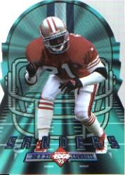 1995 Collector's Edge Instant Replay EdgeTech Die Cuts #9 Deion Sanders