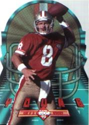 1995 Collector's Edge Instant Replay EdgeTech Die Cuts #12 Steve Young