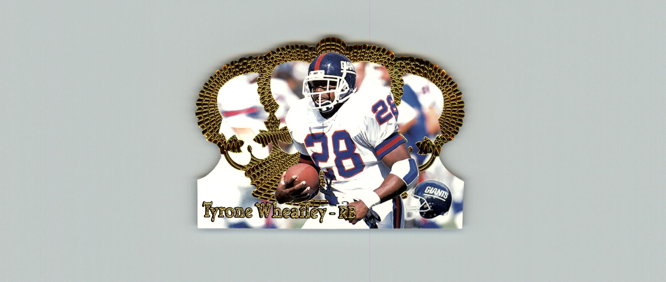 1995 Crown Royale #22 Tyrone Wheatley RC