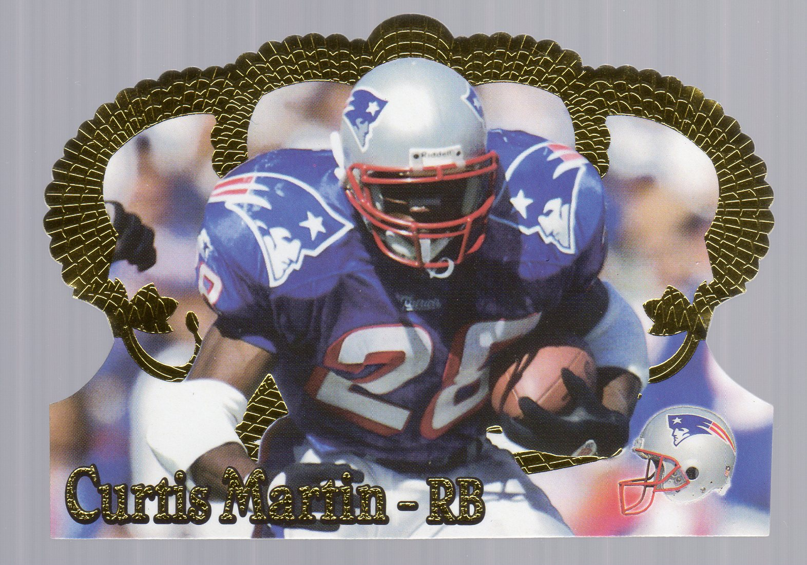 1995 Crown Royale #78 Curtis Martin RC