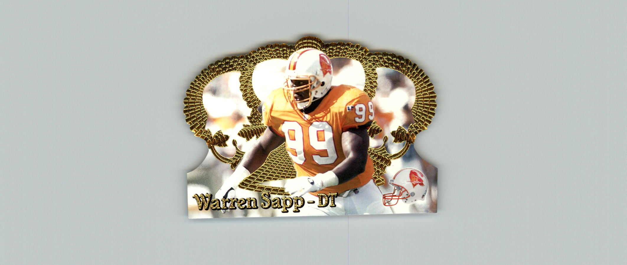 1995 Crown Royale #92 Warren Sapp RC