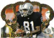 1995 Crown Royale #107 Tim Brown