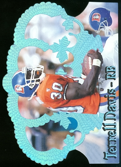 1995 Crown Royale Blue Holofoil #136 Terrell Davis