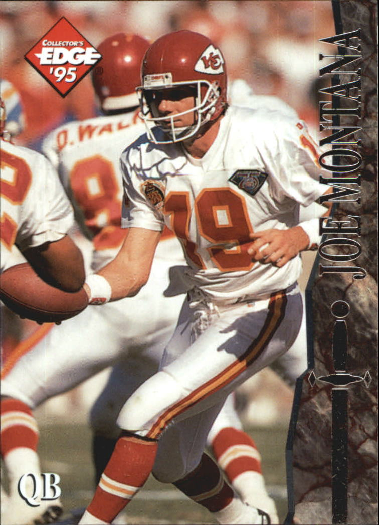 1995 Excalibur #107 Joe Montana