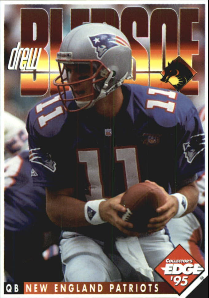 1995 Excalibur Dragon Slayers #3 Drew Bledsoe