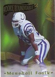 1995 Excalibur Rookie Roundtable #23 Marshall Faulk