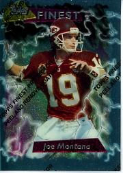 1995 Finest #90 Joe Montana front image
