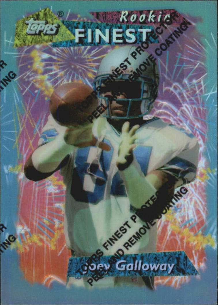 1995 Finest #166 Joey Galloway RC