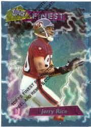 1995 Finest #180 Jerry Rice