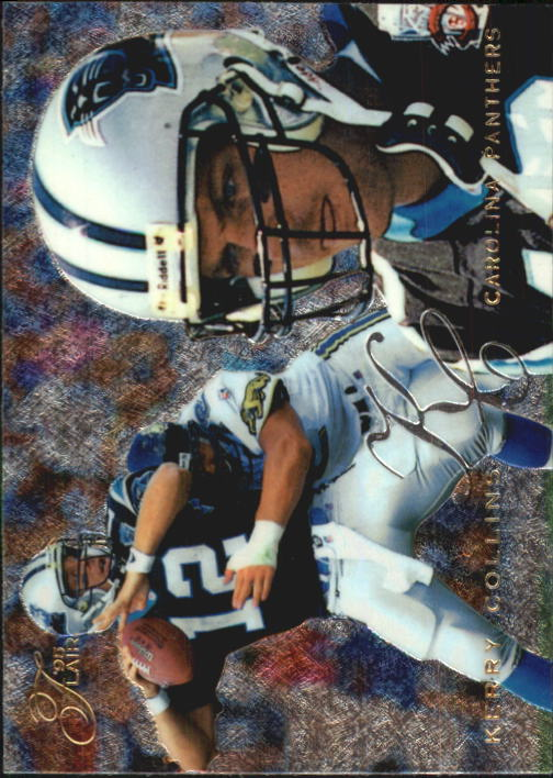 1995 Flair #24 Kerry Collins RC