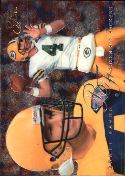 1995 Flair #74 Brett Favre