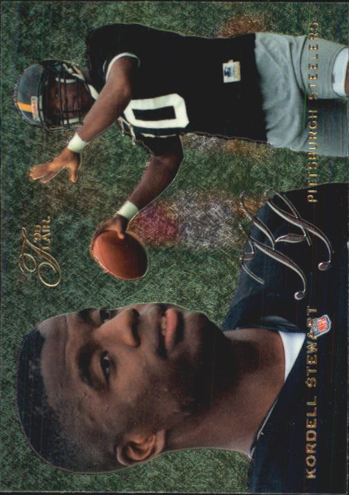 1995 Flair #168 Kordell Stewart RC
