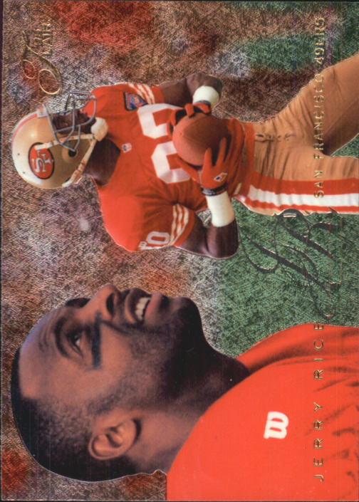 1995 Flair #190 Jerry Rice