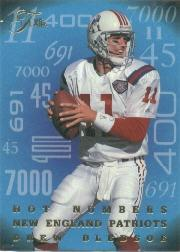 1995 Flair Hot Numbers #3 Drew Bledsoe