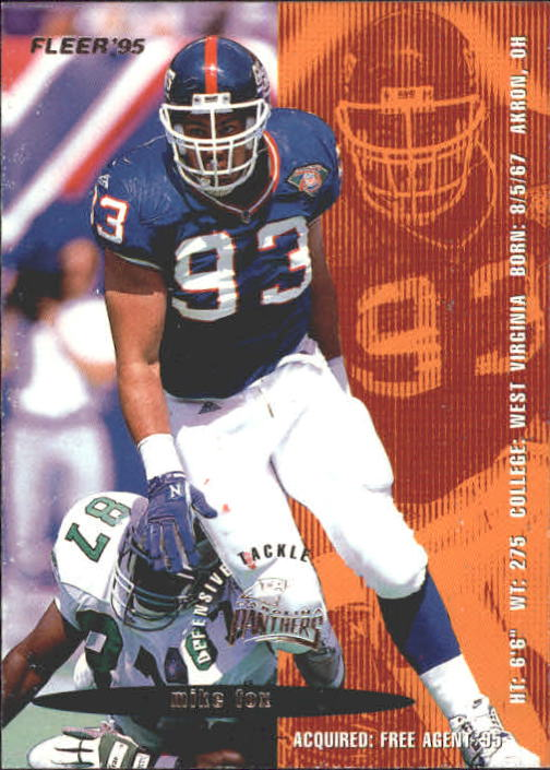 1995 Fleer #42 Mike Fox