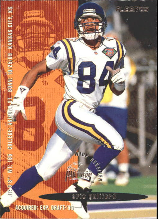 1995 Fleer #43 Eric Guliford