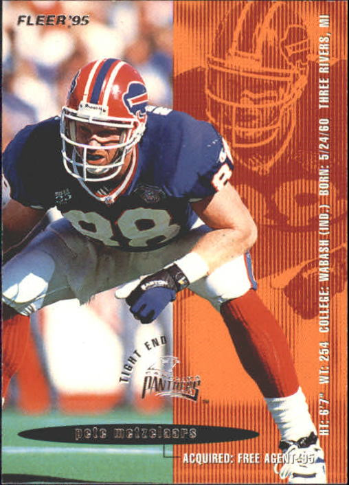 1995 Fleer #45 Pete Metzelaars