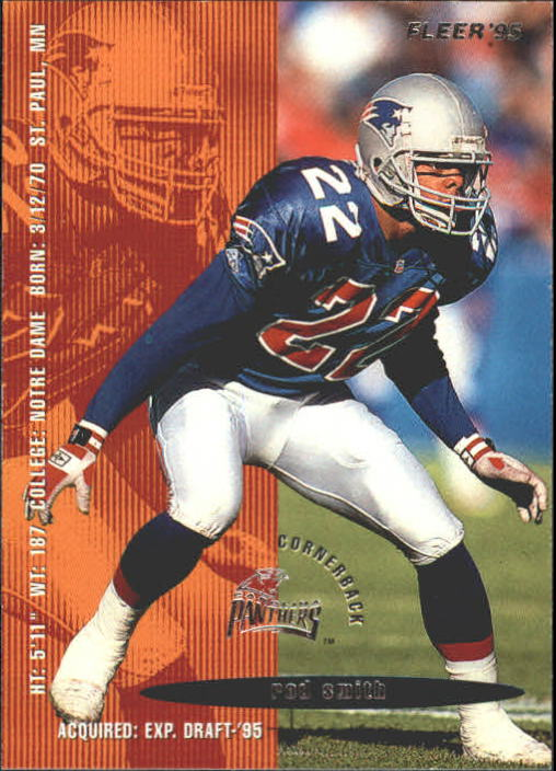 1995 Fleer #48 Rod Smith DB