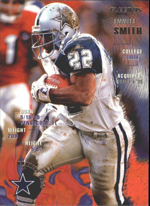 1995 Fleer #100 Emmitt Smith front image