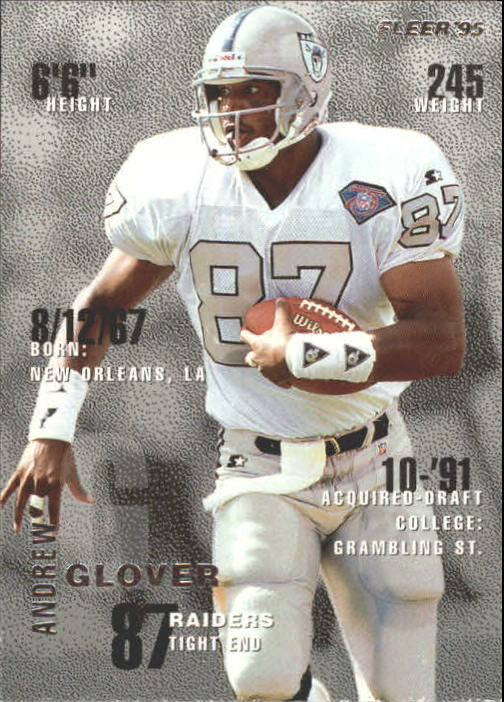1995 Fleer #190 Andrew Glover RC