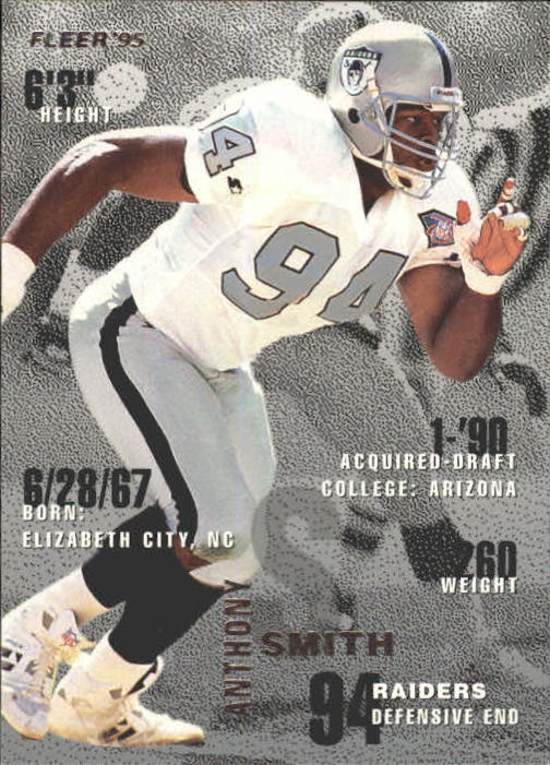 1995 Fleer #197 Anthony Smith