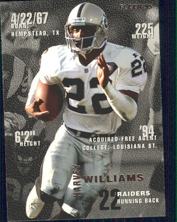 1995 Fleer #198 Harvey Williams