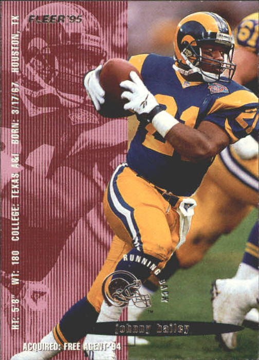 1995 Fleer #200 Johnny Bailey