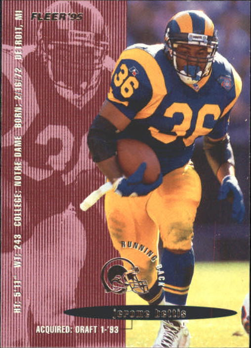 1995 Fleer #201 Jerome Bettis