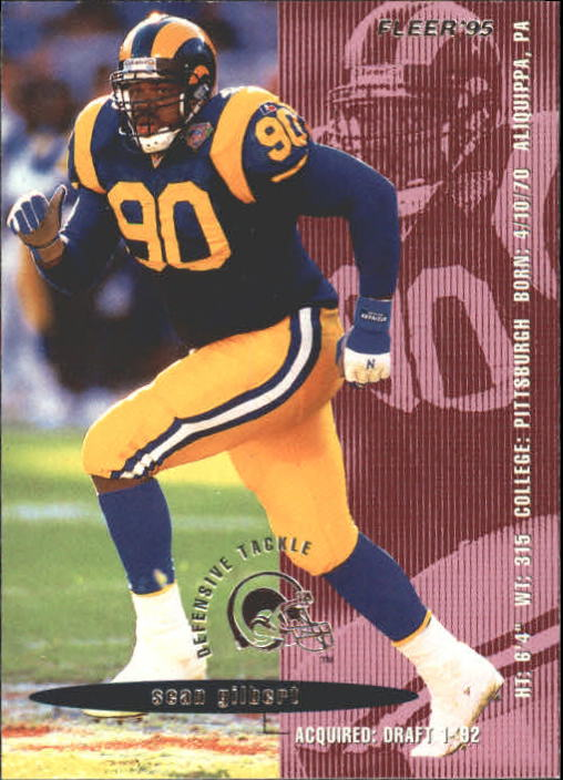 1995 Fleer #205 Sean Gilbert