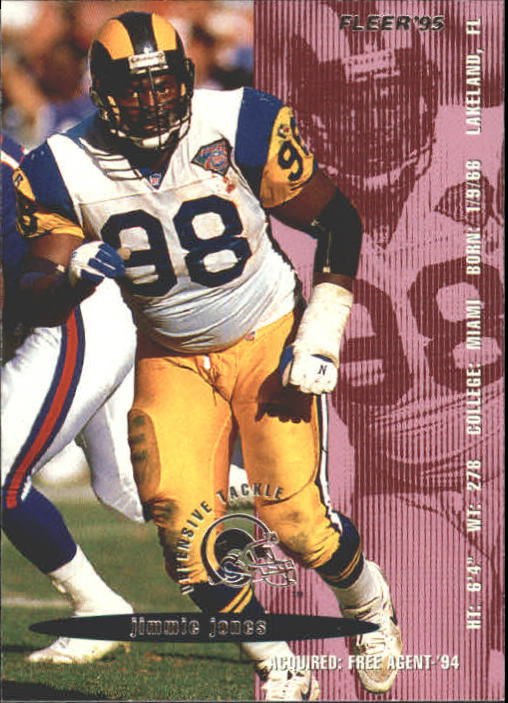 1995 Fleer #207 Jimmie Jones