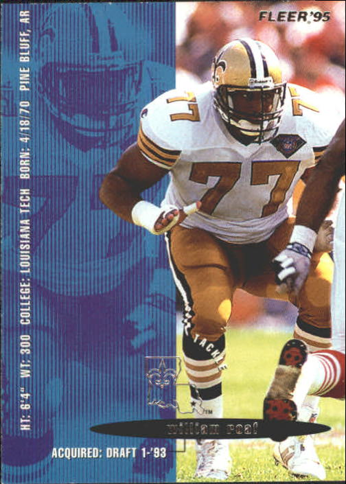 1995 Fleer #269 Willie Roaf