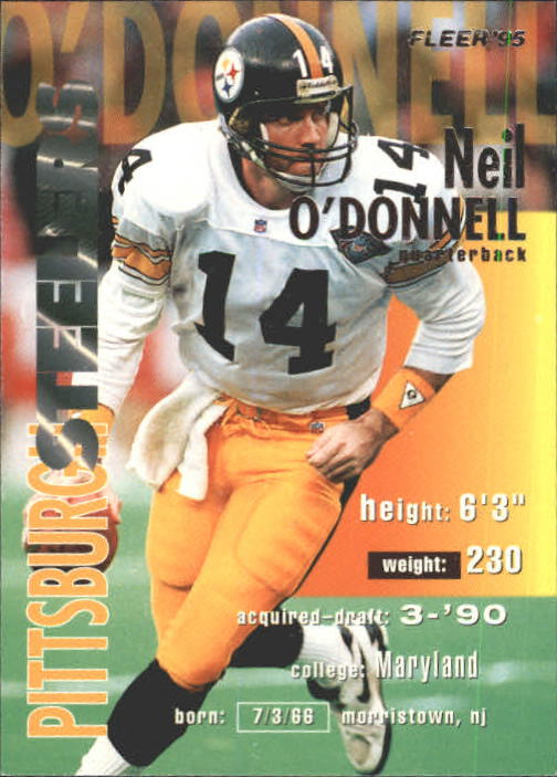 1995 Fleer #321 Neil O'Donnell