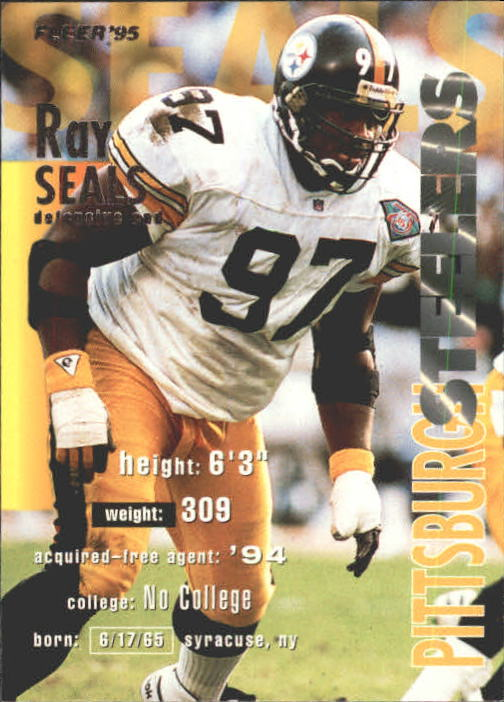 1995 Fleer #323 Ray Seals