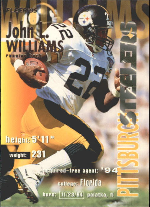 1995 Fleer #324 John L. Williams