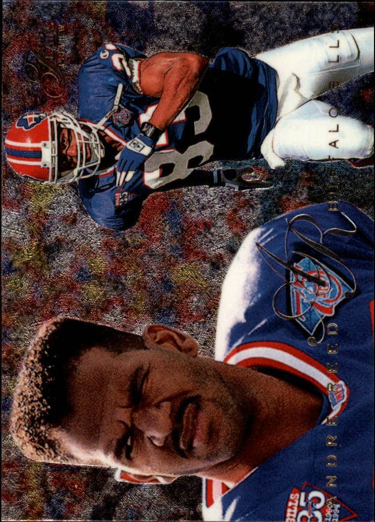 1995 Fleer Flair Preview #3 Andre Reed
