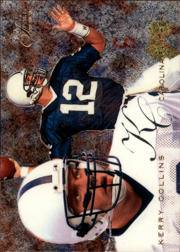 1995 Fleer Flair Preview #4 Kerry Collins
