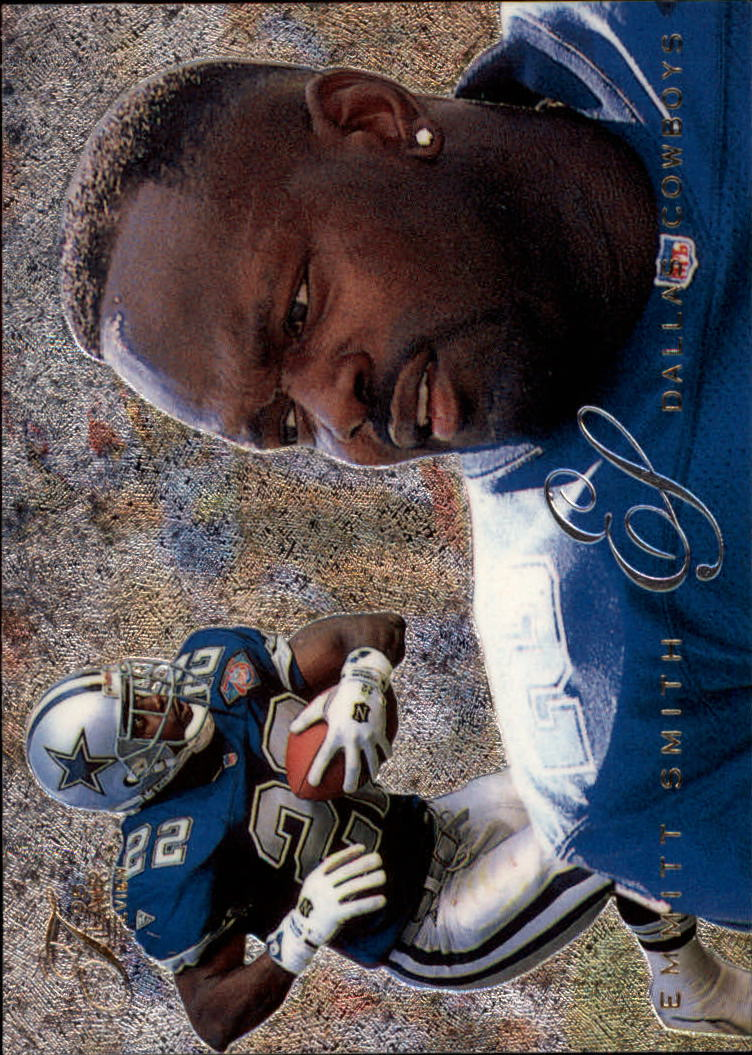 1995 Fleer Flair Preview #8 Emmitt Smith