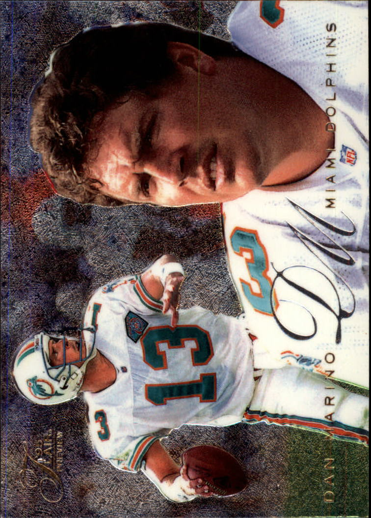 1995 Fleer Flair Preview #18 Dan Marino
