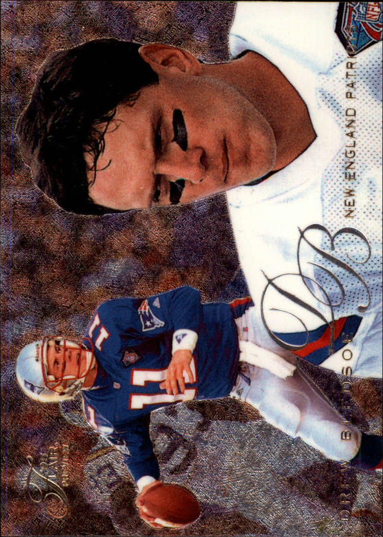 1995 Fleer Flair Preview #20 Drew Bledsoe