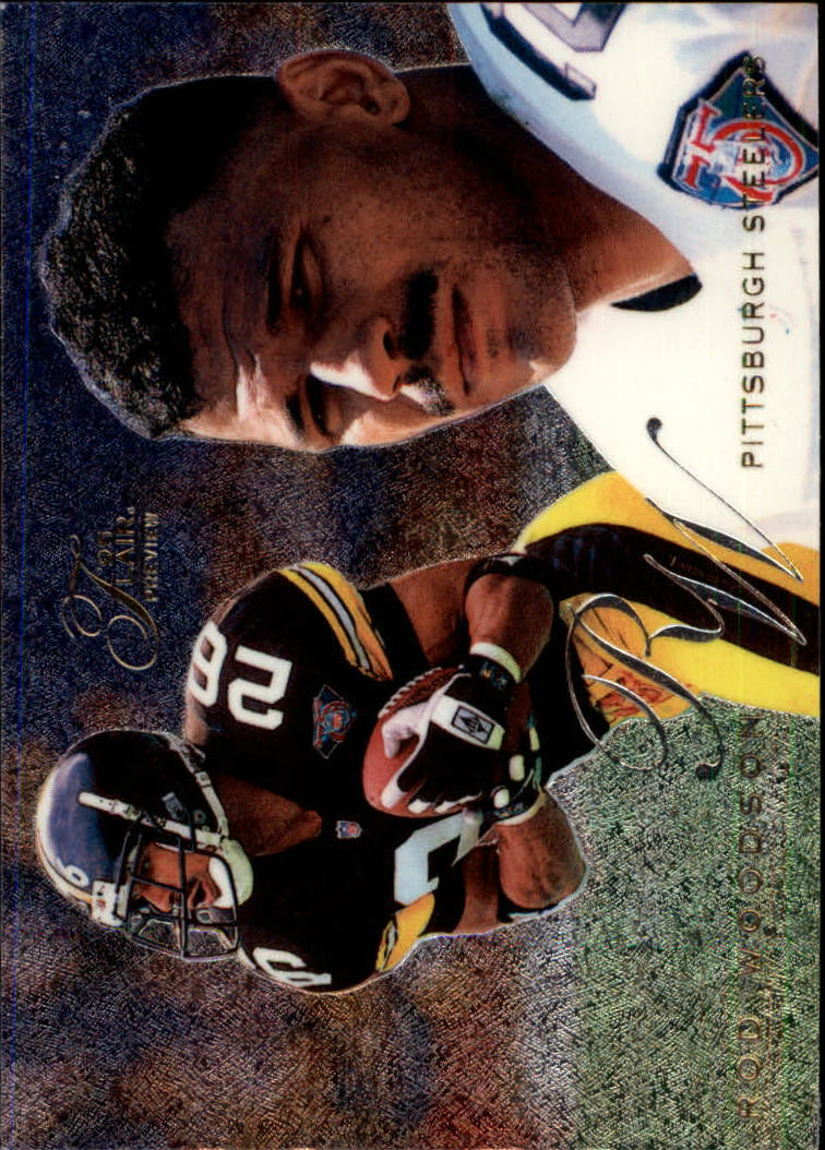 1995 Fleer Flair Preview #25 Rod Woodson