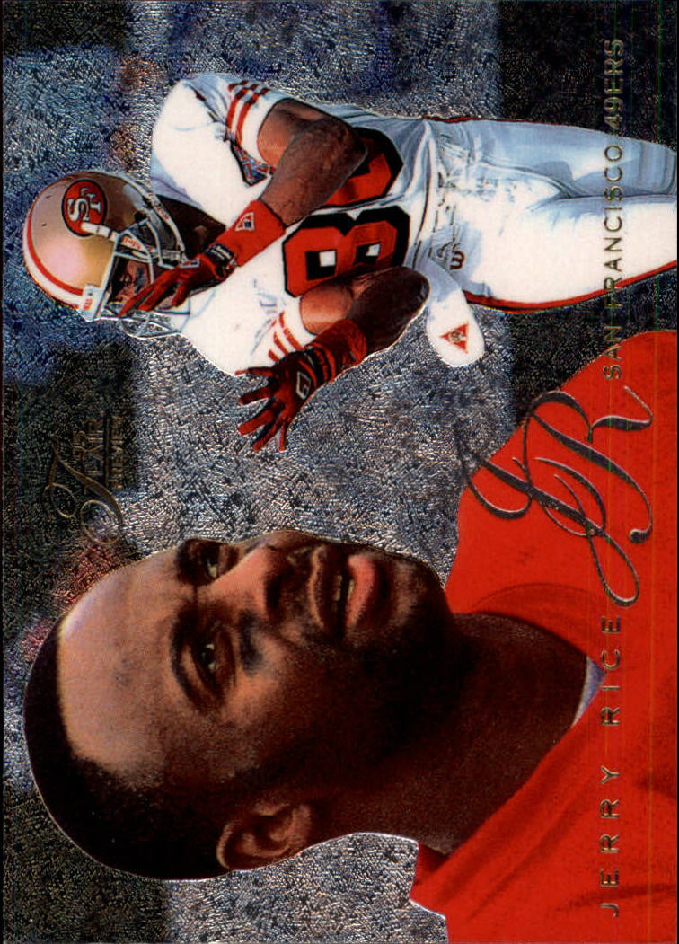 1995 Fleer Flair Preview #27 Jerry Rice