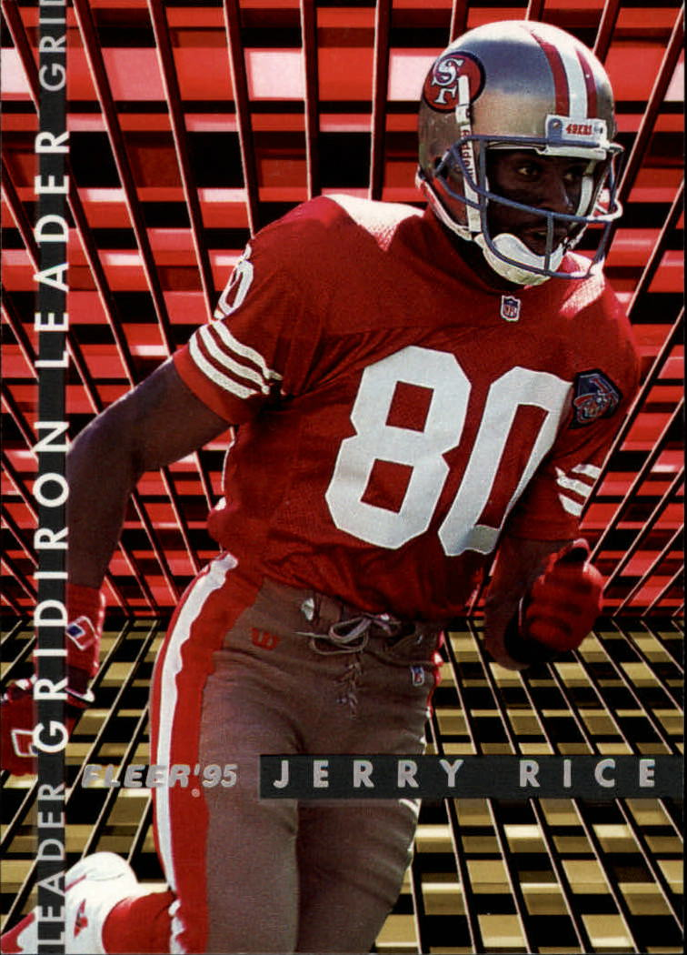 1995 Fleer Gridiron Leaders #4 Jerry Rice
