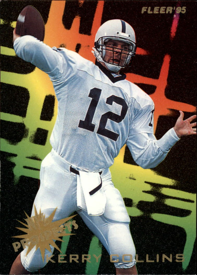 1995 Fleer Prospects #6 Kerry Collins