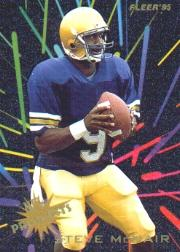1995 Fleer Prospects #12 Steve McNair