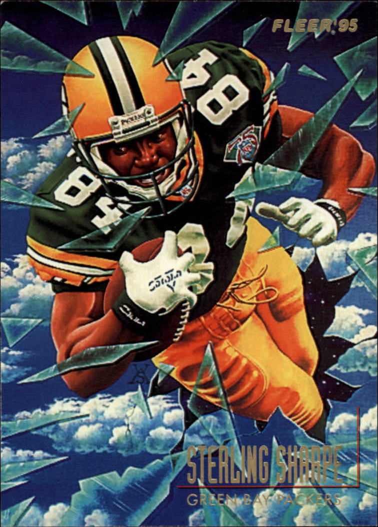 1995 Fleer Pro-Vision #2 Sterling Sharpe