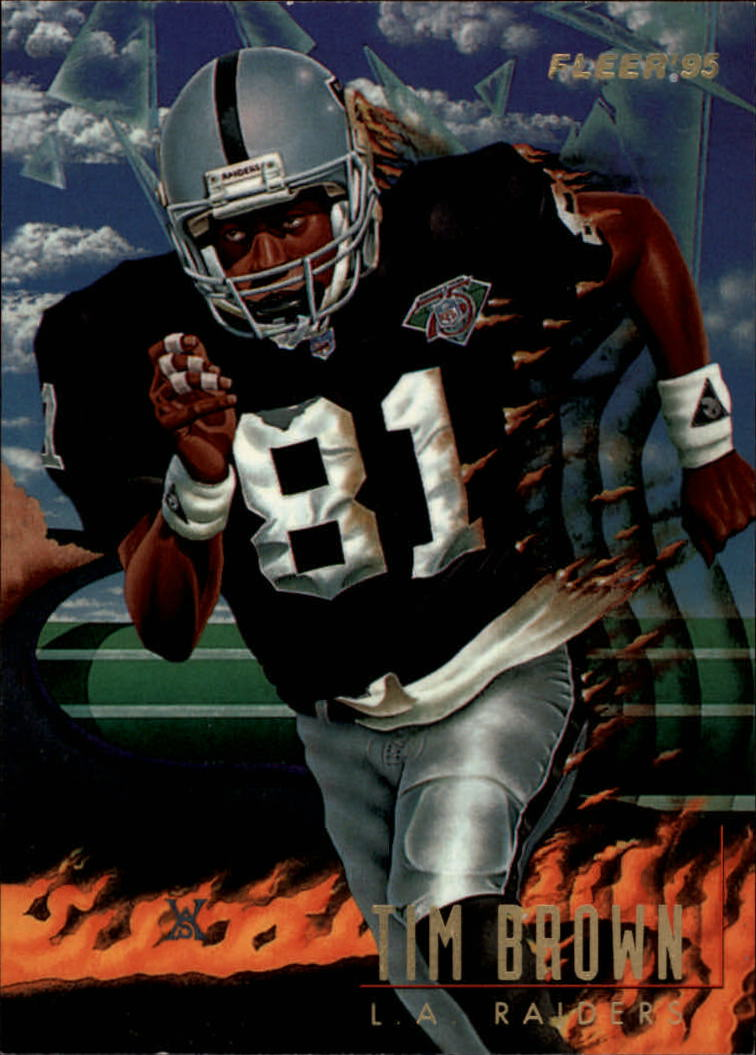 1995 Fleer Pro-Vision #6 Tim Brown