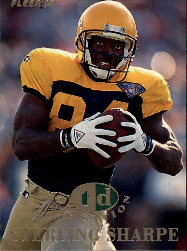 1995 Fleer TD Sensations #6 Sterling Sharpe