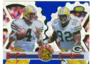 1995 Images Limited Focused Gold #F15 B.Favre/R.White