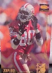 1995 Images Limited Icons #I18 Jerry Rice