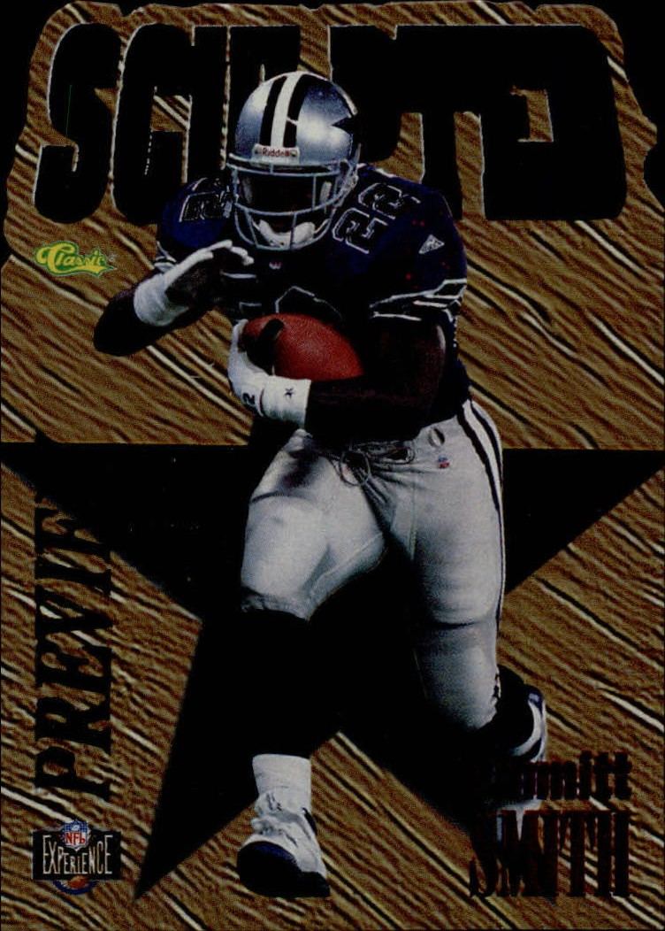 1995 Images Limited Sculpted Previews #NX1 Emmitt Smith